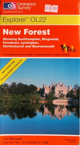 New Forest (Explorer Maps) By Ordnance Survey