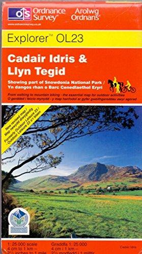 Cadair Idris and Bala Lake/Llyn Tegid By Ordnance Survey