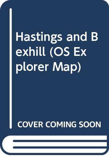 Hastings and Bexhill By Ordnance Survey