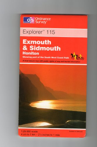 Exmouth and Sidmouth By Ordnance Survey