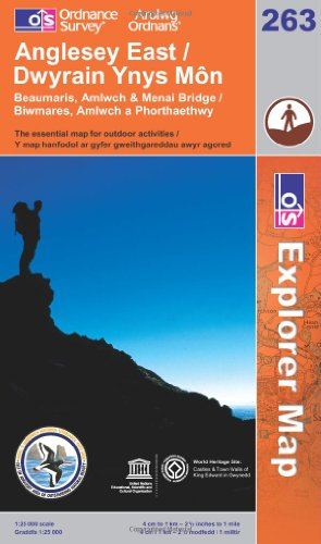 Anglesey East By Ordnance Survey