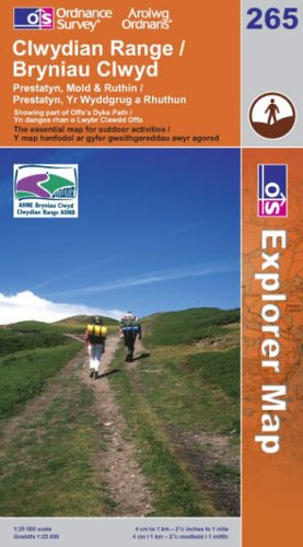 Clwydian Range By Ordnance Survey