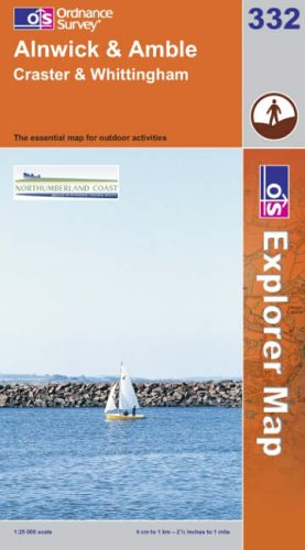 Alnwick and Amble By Ordnance Survey