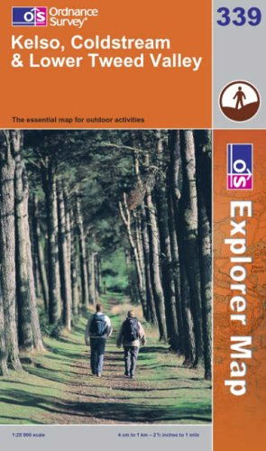 Kelso, Coldstream and Lower Tweed Valley By Ordnance Survey