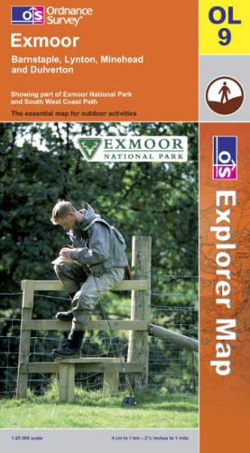 Exmoor By Ordnance Survey