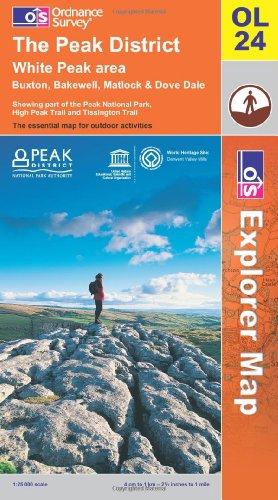 The Peak District By Ordnance Survey