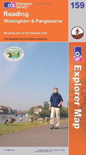 Reading, Wokingham and Pangbourne By Ordnance Survey
