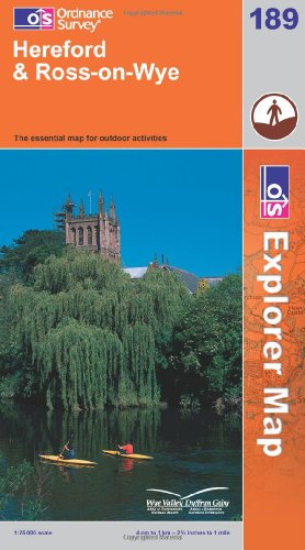 Hereford and Ross-on-Wye By Ordnance Survey