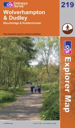 Wolverhampton and Dudley By Ordnance Survey