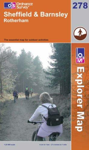 Sheffield and Barnsley By Ordnance Survey