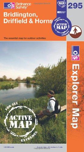 Bridlington, Driffield and Hornsea (Explorer Maps) (OS Explorer Map Active) By Ordnance Survey