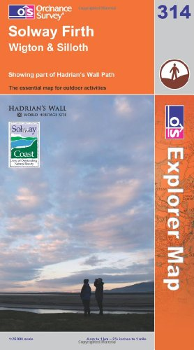 Solway Firth, Wigton and Silloth By Ordnance Survey