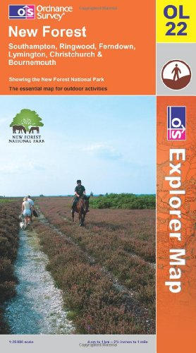 New Forest (Explorer Maps) (Explorer Maps) (OS Explorer Map) By Ordnance Survey