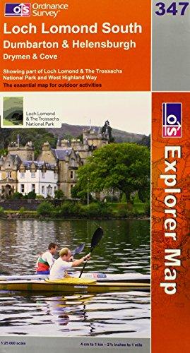 Loch Lomond South By Ordnance Survey