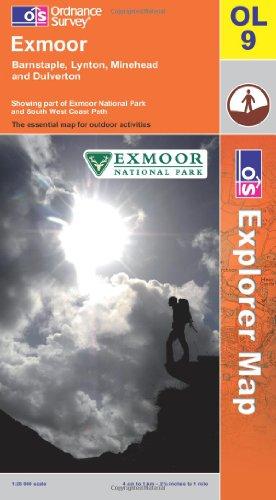 Exmoor By Ordnance Survey