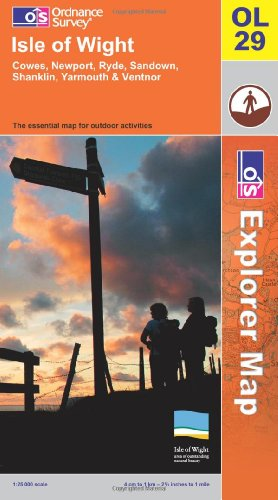 Isle of Wight By Ordnance Survey