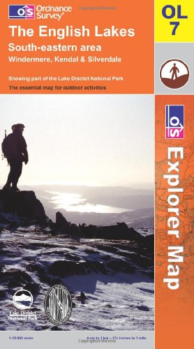 The English Lakes By Ordnance Survey