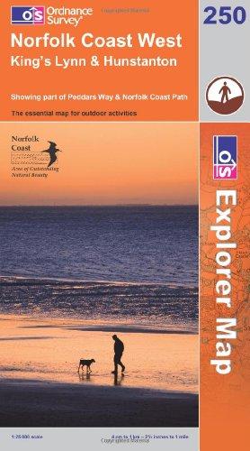 Norfolk Coast West By Ordnance Survey