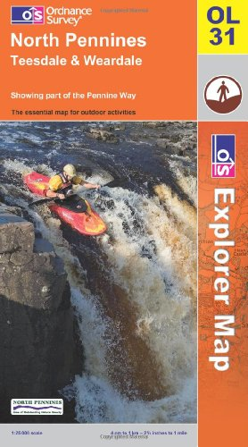 North Pennines By Ordnance Survey