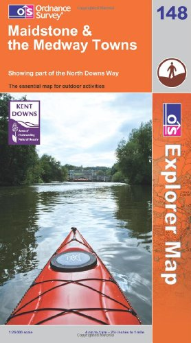 Maidstone and the Medway Towns By Ordnance Survey