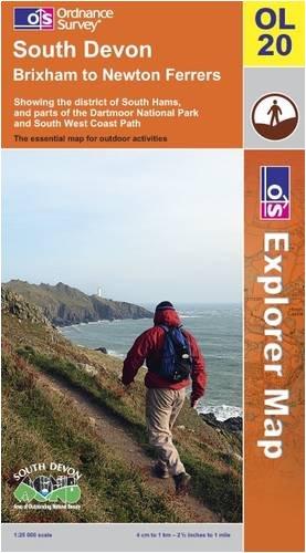 South Devon By Ordnance Survey