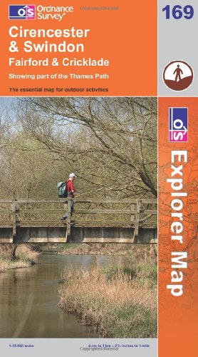 Cirencester and Swindon, Fairford and Cricklade (OS Explorer Map) By Ordnance Survey