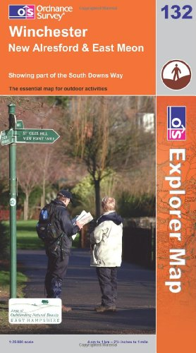 Winchester, New Alresford and East Meon By Ordnance Survey