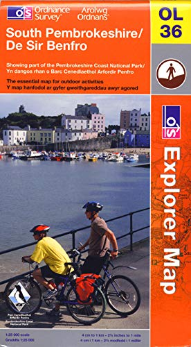 South Pembrokeshire By Ordnance Survey