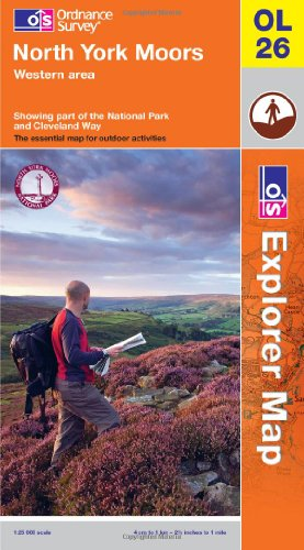 North York Moors - Western Area By Ordnance Survey