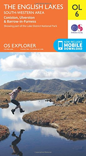 OS Explorer OL6 The English Lakes - South Western area (OS Explorer Map) By Ordnance Survey
