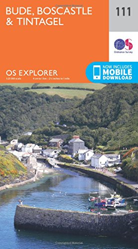 Bude, Boscastle and Tintagel By Ordnance Survey
