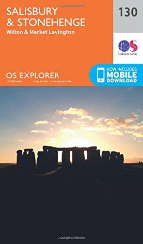 Salisbury and Stonehenge By Ordnance Survey
