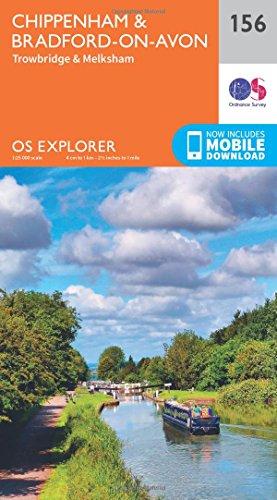 Chippenham and Bradford-on-Avon By Ordnance Survey