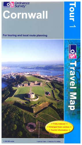 Cornwall (OS Travel Series - Tourist Map) (OS Travel Map - Tour Map) By Ordnance Survey