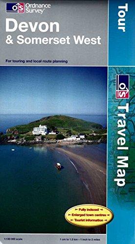 Devon and Somerset West By Ordnance Survey