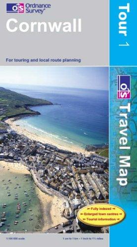 Cornwall By Ordnance Survey