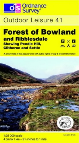 Forest of Bowland and Ribblesdale By Ordnance Survey