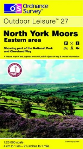 North York Moors By Ordnance Survey