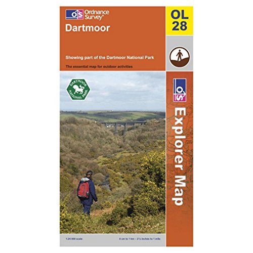Dartmoor By Ordnance Survey