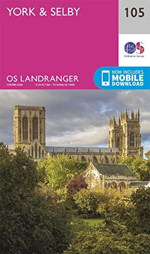 York & Selby By Ordnance Survey