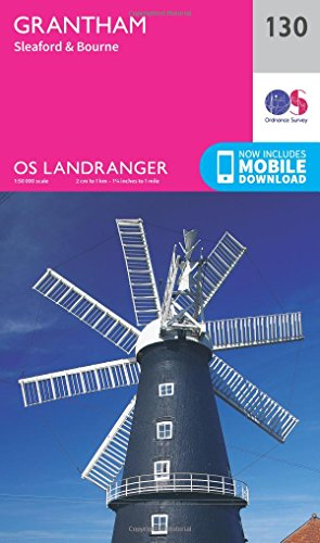 Grantham, Sleaford & Bourne By Ordnance Survey