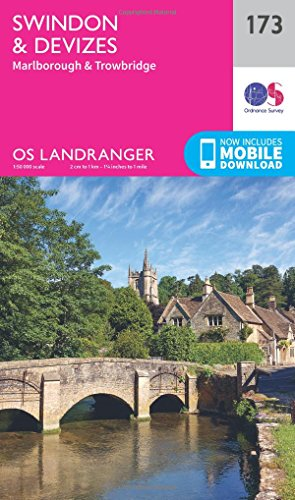 Swindon, Devizes, Marlborough & Trowbridge By Ordnance Survey
