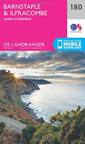 Barnstaple & Ilfracombe, Lynton & Bideford By Ordnance Survey