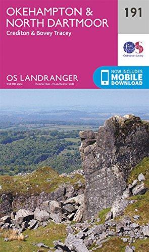 Okehampton & North Dartmoor By Ordnance Survey