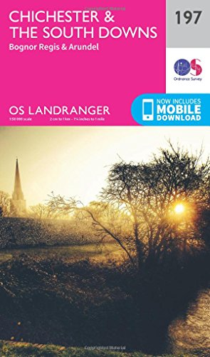 Chichester & the South Downs By Ordnance Survey