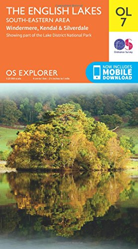 Lakes SE By Ordnance Survey