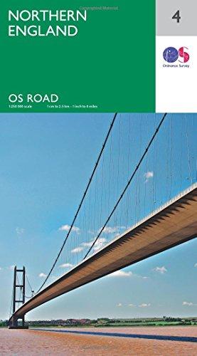 Northern England By Ordnance Survey