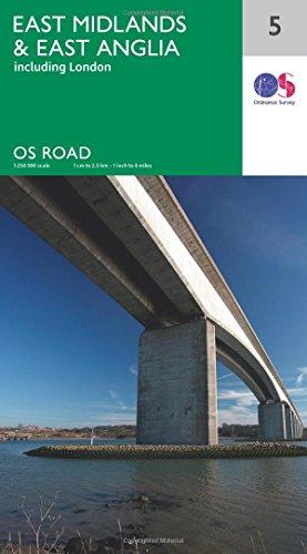 East Midlands & East Anglia By Ordnance Survey