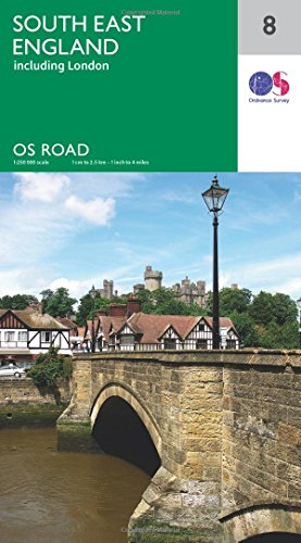 South East England By Ordnance Survey