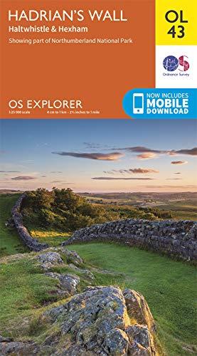 Hadrian's Wall By Ordnance Survey